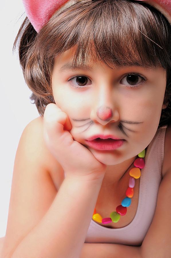 Close-up of child